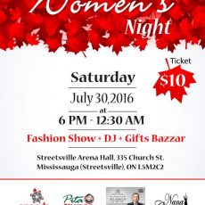 Multicultural Women's Night