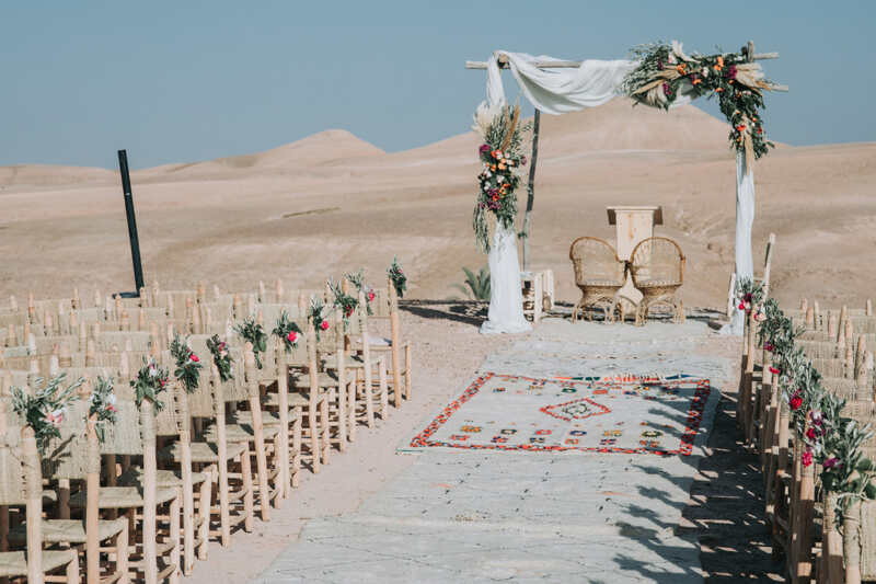 Morocco is the best destination in the world to organize a Dream Wedding
