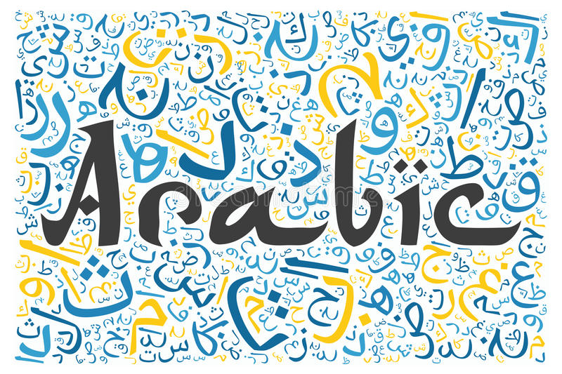 The Arabic language in the top 5 of the most spoken languages around the world