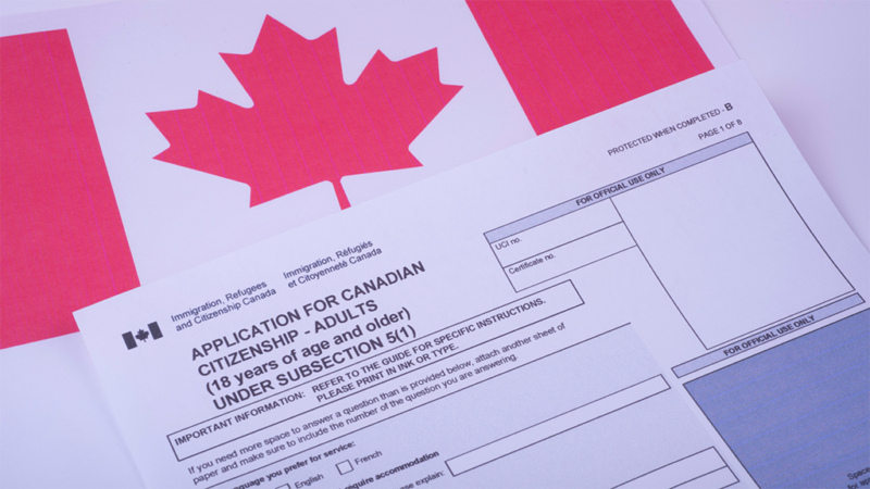Preparation for the Canadian citizenship test