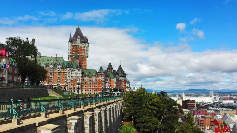 Quebec city, best tourist destination in Canada
